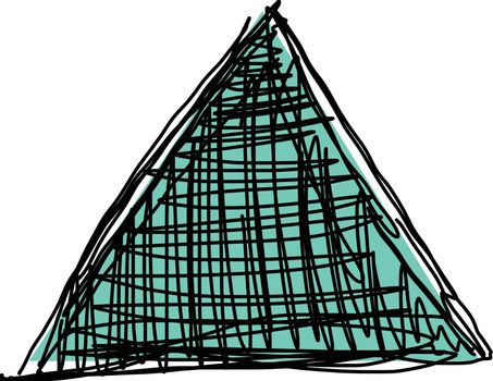 Sketch of triangle