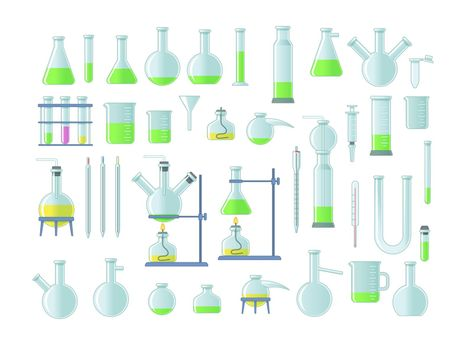 Lab chemical tubes set