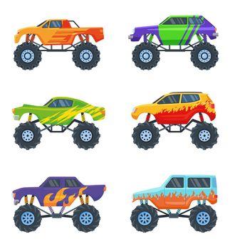 Monster cars set