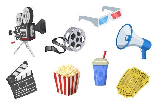 Movie elements set