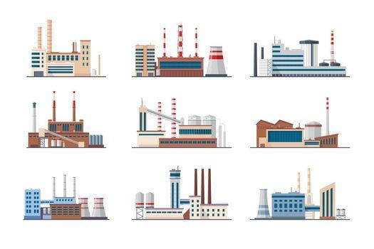 Plants and factories set