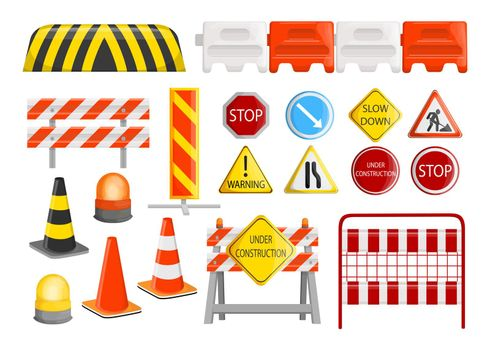 Traffic barriers collection