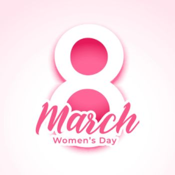 happy womens day greeting in paper style