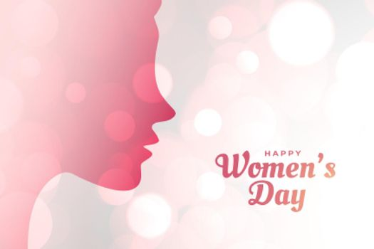 international womwn's day concept poster design