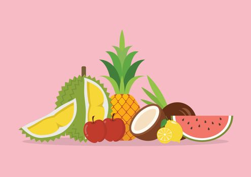 Seasonal organic exotic fruits