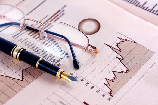 stock exchange and markets graphic detail