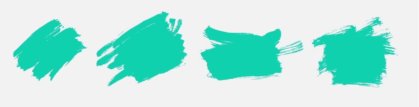 turquoise grunge texture watercolor set design