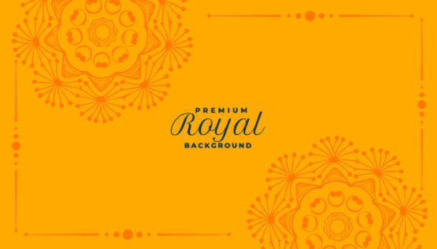 royal mandala decorative pattern background