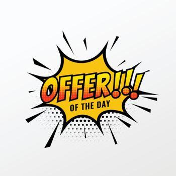 sale and offer template for business promotion