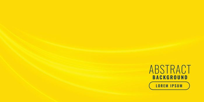yellow background with wave shape design