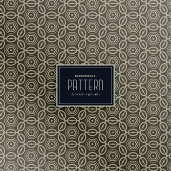 pattern design for classic fabric design