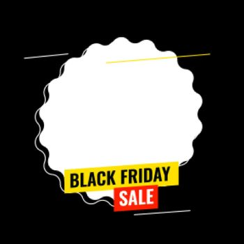 black friday sale background with text space