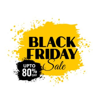 black friday sale grunge background design