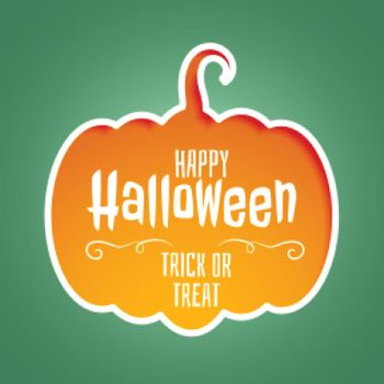 happy halloween trick or treat background design
