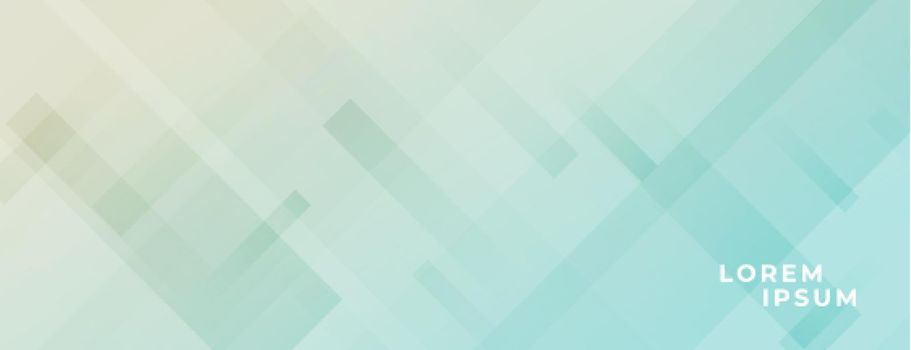 modern wide banner with diagonal lines effect design