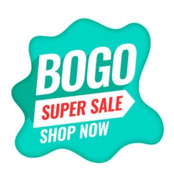 bogo buy one get one super sale background