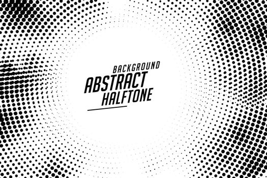 abstract rounded circular halftone texture background design