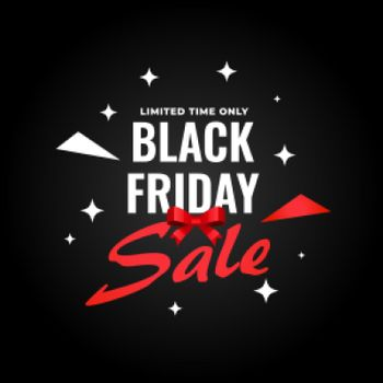 creative black friday sale template for shopping