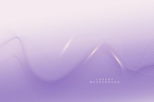 elegant purple background with smooth lines design