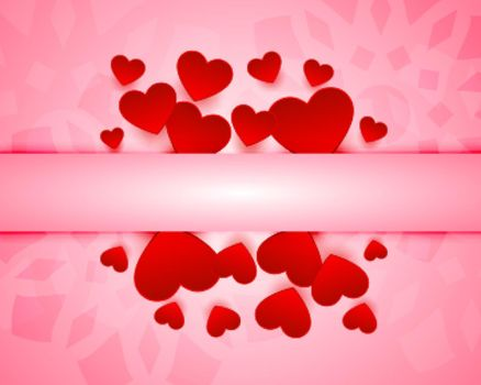 greeting design for valentines day