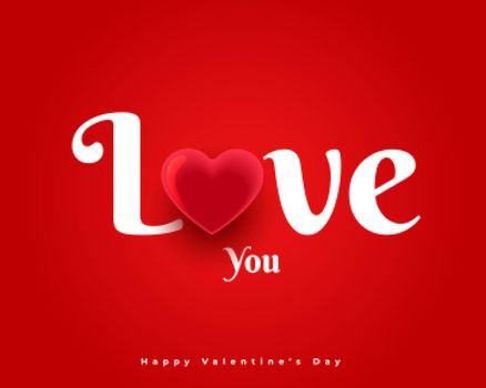 love you message for valentines day