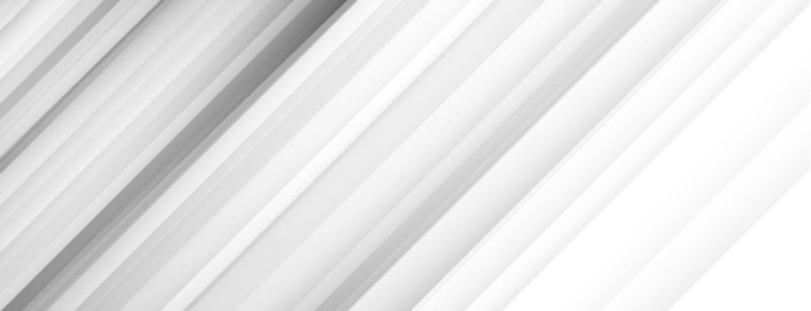 white banner background with diagonal lines design