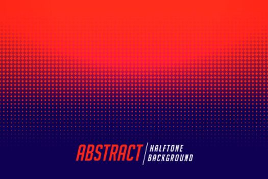 abstract red and blue halftone gradient background