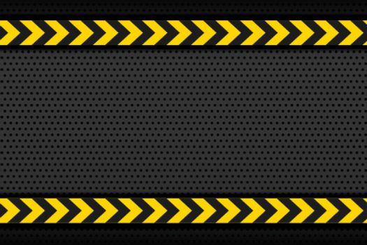 black metallic background with yellow stipe arrows