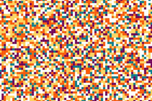 colorful pixels dots chaos background