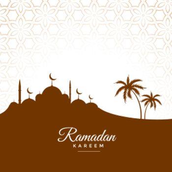 cultural ramadan kareem seasonal greeting design