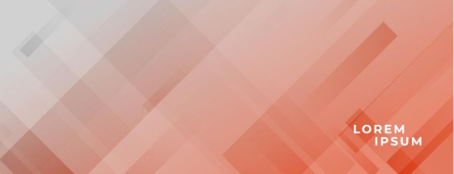 geometric pastel color banner with diagonal lines