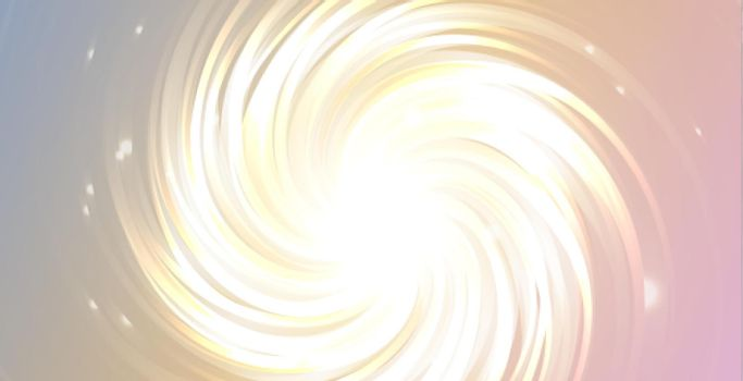 glow swirl lines effect with sparkles background