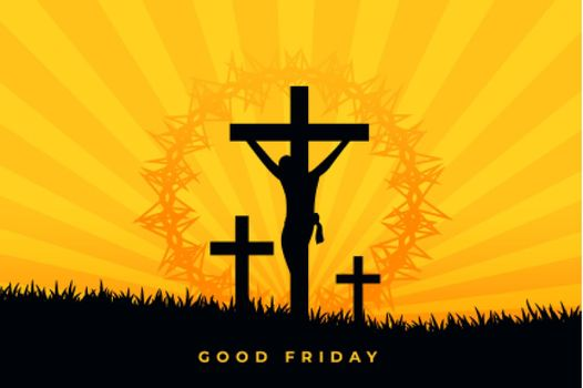 jesus christ crucifixion scene good friday background