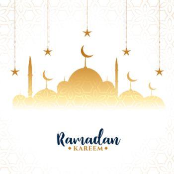 ramadan kareem arabic festival greeting background