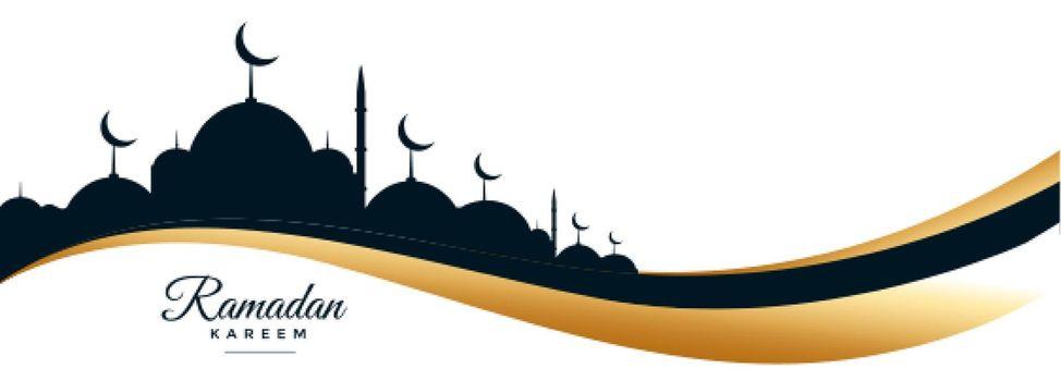 ramadan kareem and eid festival banner design