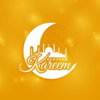 ramadan kareem holy season greeting card design