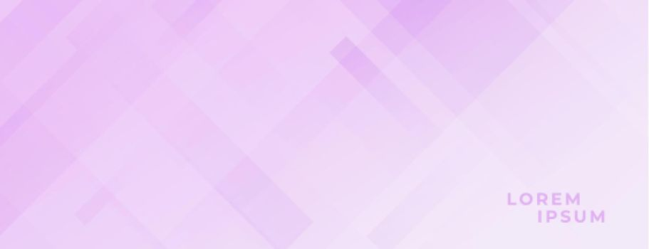 soft purple pink banner with diagonal lines