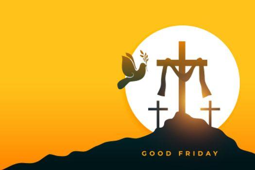 good friday peace holy week background