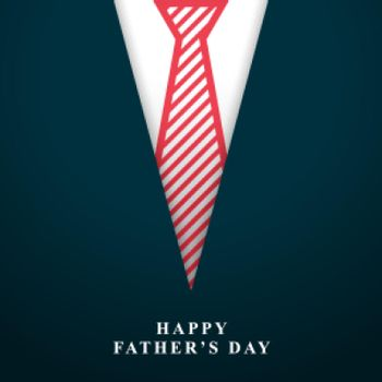 happy fathers day wishes background with tie
