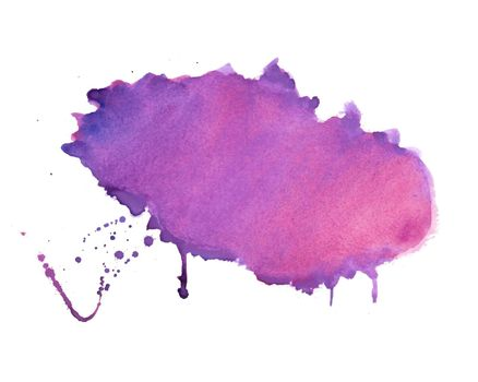 purple shade watercolor stain texture background design