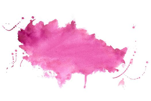 pink shade watercolor stain texture background design