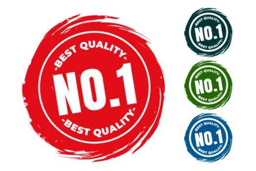 best quality number one rubber stamps set