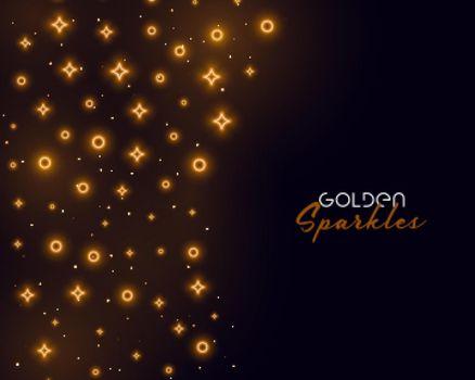 golden sparkle background for celebration or event