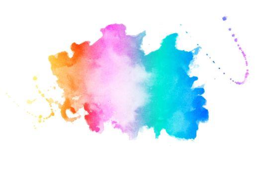 vibrant colors watercolor stain texture background design