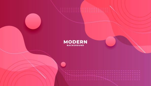 abstract pink shade fluid shape background design