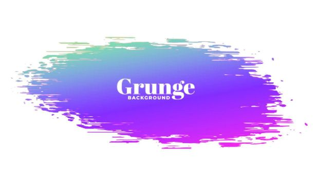 abstract vibrant color grunge stain background design