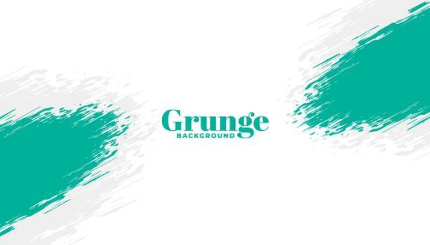 abstract brush stroke grunge frame background design
