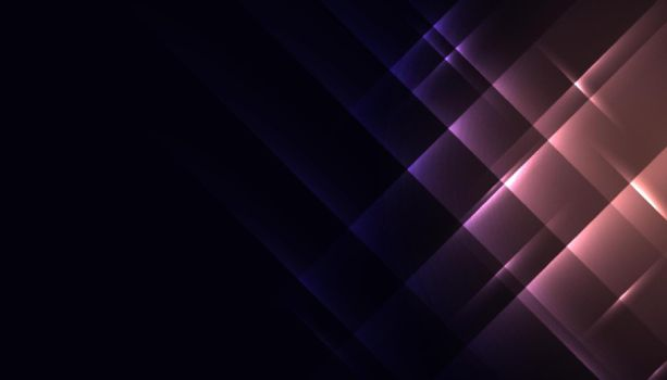 abstract shiny glowing diagonal lines background design