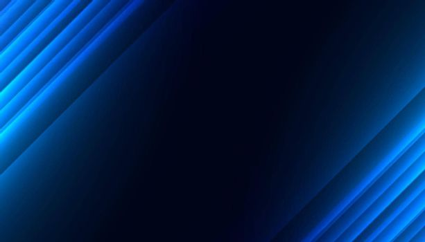 blue glowing diagonal lines abstract background design