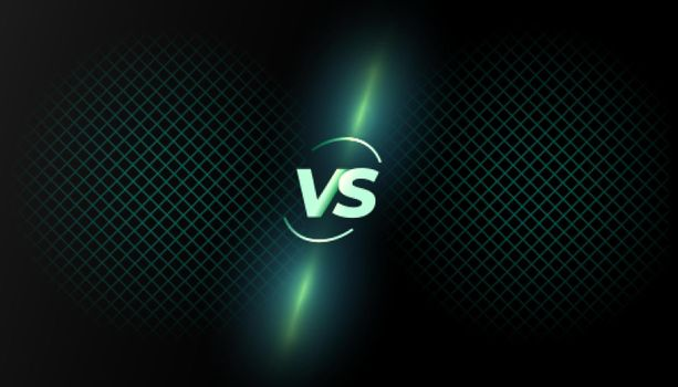 versus vs background battle screen template design